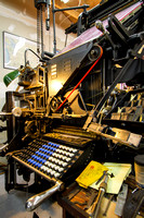 Intertype Machine on 3-10-2012